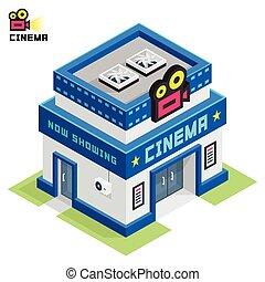 bâtiment, cinéma