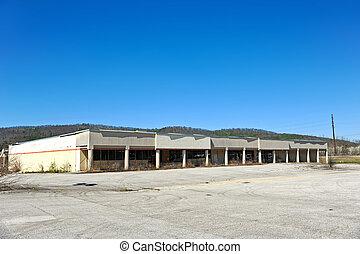 bâtiment,  commercial, abandonnés