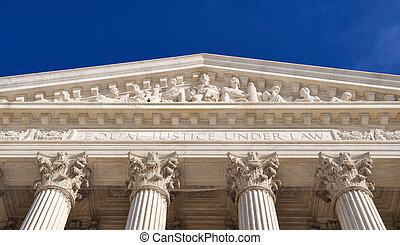 bâtiment, cour suprême