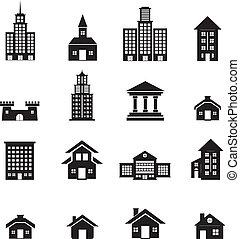 bâtiment, ensemble