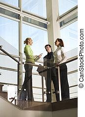 bâtiment, equipe affaires