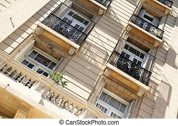 bâtiment historique, dans, buenos aires