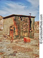 bâtiment, industriel, abandonnés
