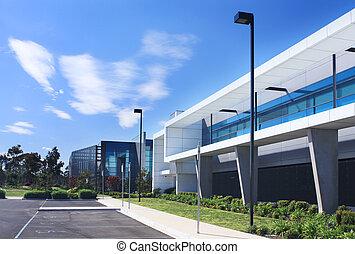 bâtiment, industriel