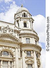 bâtiment, londres, royaume-uni, typique