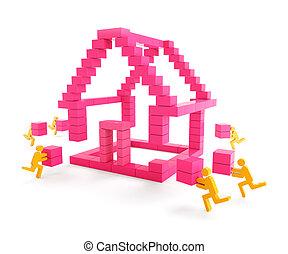 bâtiment, maison