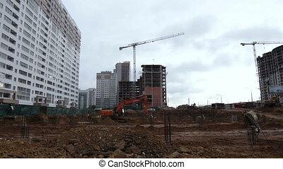 bâtiment, maison, secteur résidentiel