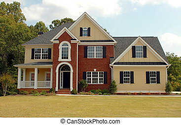bâtiment, nouvelle maison