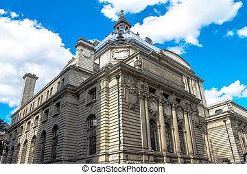 bâtiment, parker, royaume-uni, matthew, historique, rue., london.