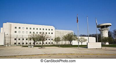 bâtiment, prison