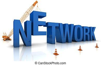 bâtiment, réseau