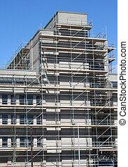 bâtiment, restauration, sous