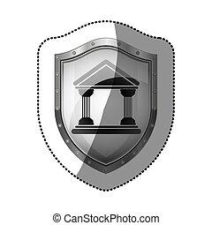 bâtiment, symbole, tribunal