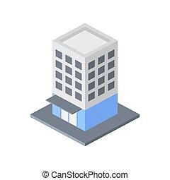 bâtiment, vecteur