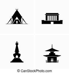 bâtiments, architecture, historique