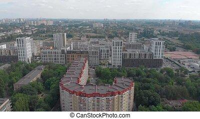 bâtiments, cityscape, appartement