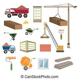 bâtiments, construction