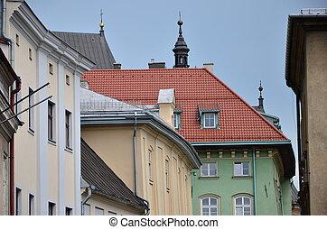 bâtiments, historique
