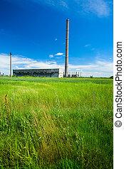 bâtiments, industriel, abandonnés