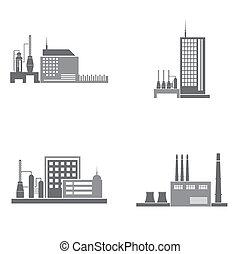 bâtiments, industriel