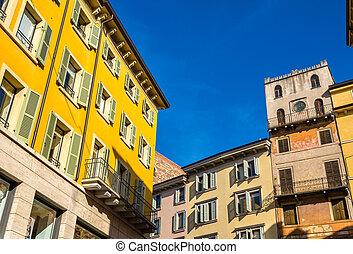 bâtiments, Italie, Vérone,  centre,  -, historique