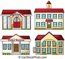 bâtiments, utile