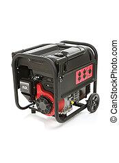 bärbar, elektrisk, generator