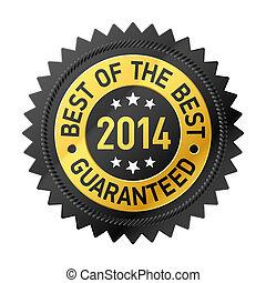 bäst, av, den, bäst, 2014, etikett
