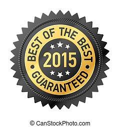 bäst, av, den, bäst, 2015, etikett