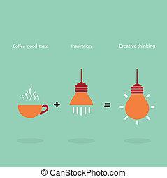 bäst, smaka, bra, vara, job., inspiration, skapat, kaffe, kan