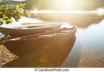 båt, in, norge