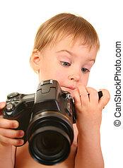 bébé, 3, appareil photo