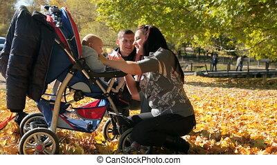 bébé, alimentation, mère