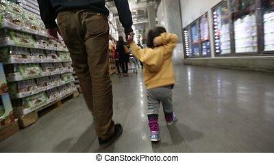 bébé bébé, à, les, magasin, 1