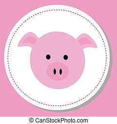 bébé, cochon