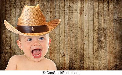 bébé, cow-boy