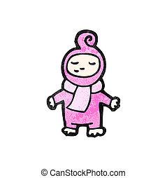bébé, dessin animé