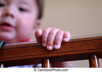 bébé, doigts