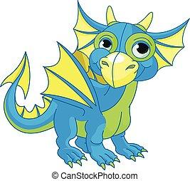 bébé, dragon