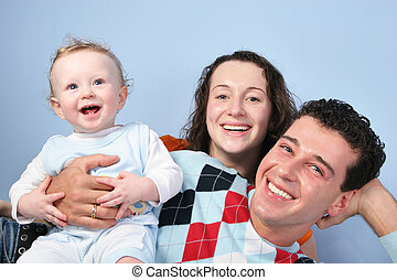 bébé, famille