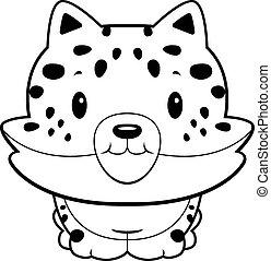 Mignon jaguar petit mignon jaguar panther illustration petit - Bebe du jaguar ...