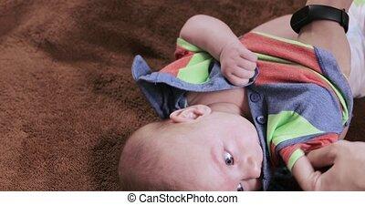 bébé, maman, robes