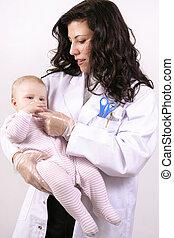 bébé, medicating