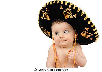 bébé, mexicain