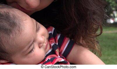 bébé, nourrisson, nouveau né