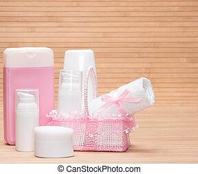 bébé, peau, produits, soin