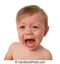 bébé pleurant