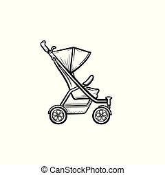 Images et illustrations de poussette 784 illustrations de - Poussette dessin ...