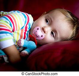 bébé, pyjamas