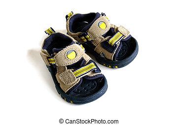 bébé, sandales